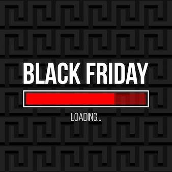 Czarny piątek oferta specjalna sprzedaż transparent