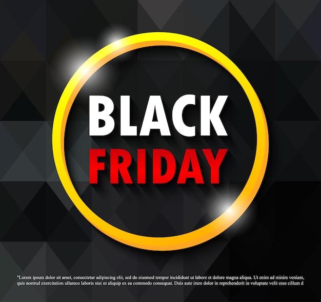 Czarny piątek promocja sprzedaży plakat lub baner streszczenie tło, duża promocja wydarzenia sprzedaży i szablon zakupy na białym tle