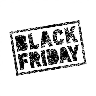 Czarny piątek sprzedaż bazgroły grunge pieczęć