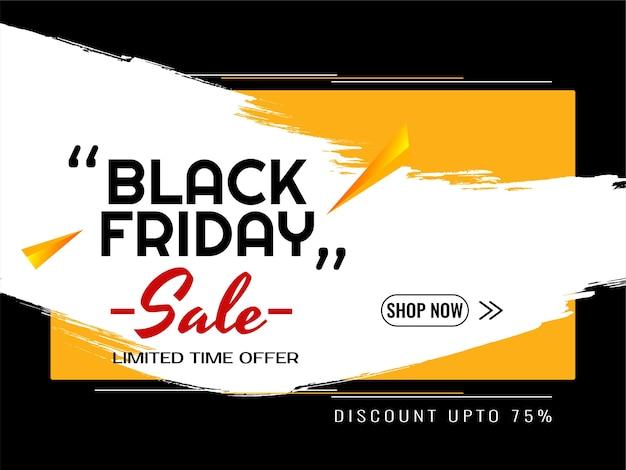Czarny piątek sprzedaż dekoracyjne nowoczesne tło