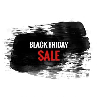Czarny piątek sprzedaż grunge design
