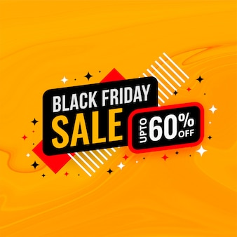Czarny piątek sprzedaż i szablon transparent zniżki