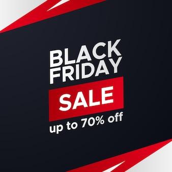 Czarny piątek sprzedaż oferta promocyjna zniżka plakat baner elegancki sportowy szablon