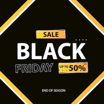 Czarny piątek sprzedaż szablonu tła
