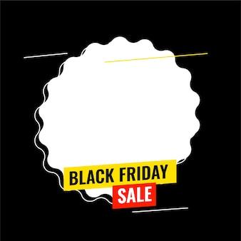 Czarny piątek sprzedaż tło z miejsca na tekst