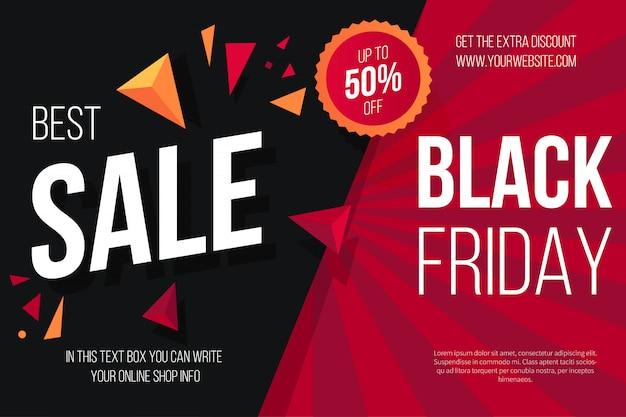 Czarny piątek sprzedaż tło