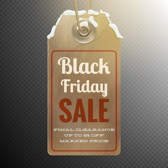Czarny piątek sprzedaż tło.