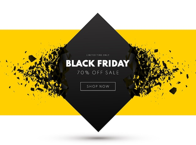 Czarny piątek sprzedaż transparent sprzedaż tło wektor ilustracja