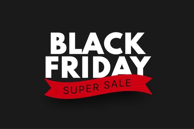 Czarny piątek sprzedaż transparent wektor sprzedaż szablon tła dla reklamy promocyjnej i reklam społecznościowych