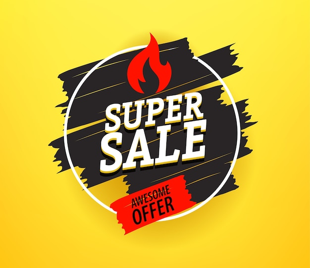 Czarny piątek super sprzedaż banner reklamowy. świetna oferta
