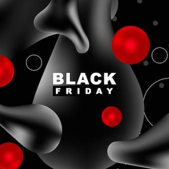 Czarny piątek tło wektor