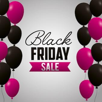 Czarny piątek zakupy sprzedaży tło