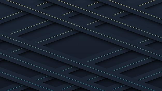 Czarny wzór papieru wyciąć tło