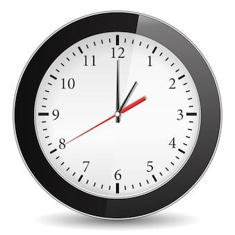Czarny zegar