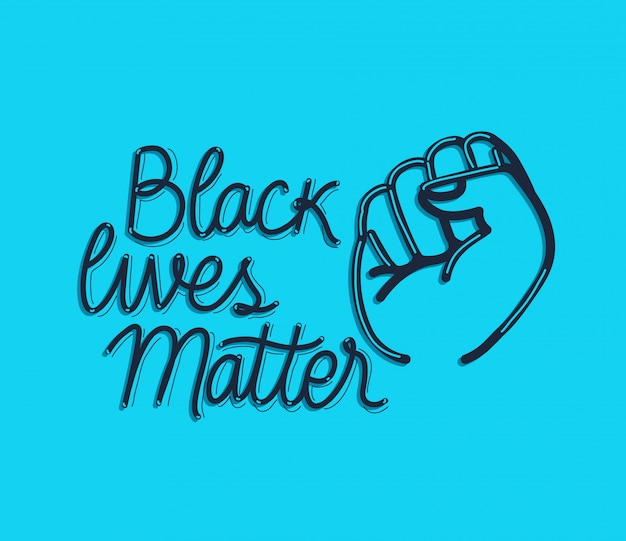Czarny żyje materią pięścią