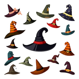 Czarodziej i magowie czapki z elementami maskarady