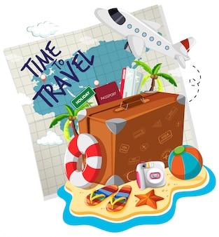 Czas na logo podróży