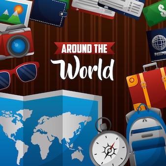 Czas na podróż dookoła świata