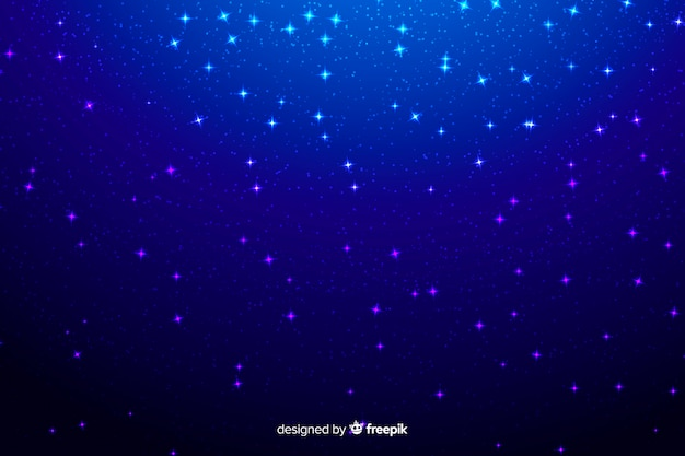 Cząsteczki galaktyki tła