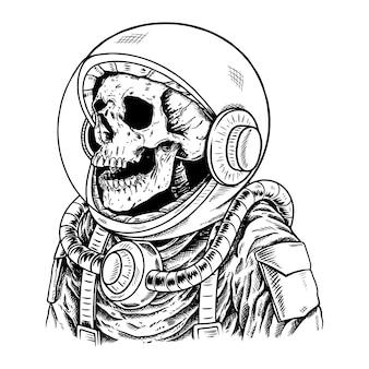 Czaszka astronaut