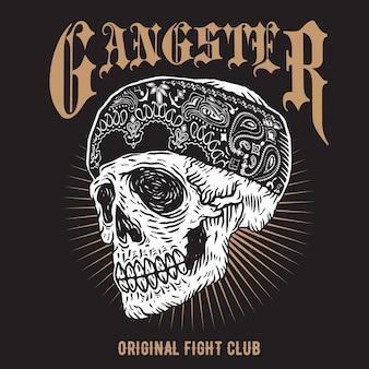 Czaszka gangstera