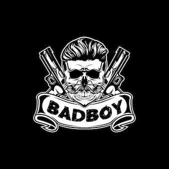 Czaszka złego chłopca