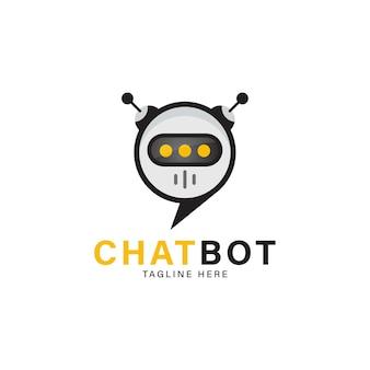 Czat bot wektor projekt ilustracja nowoczesny płaski styl czat bot ikona