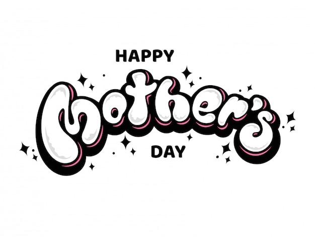 Czcionka happy mother's day