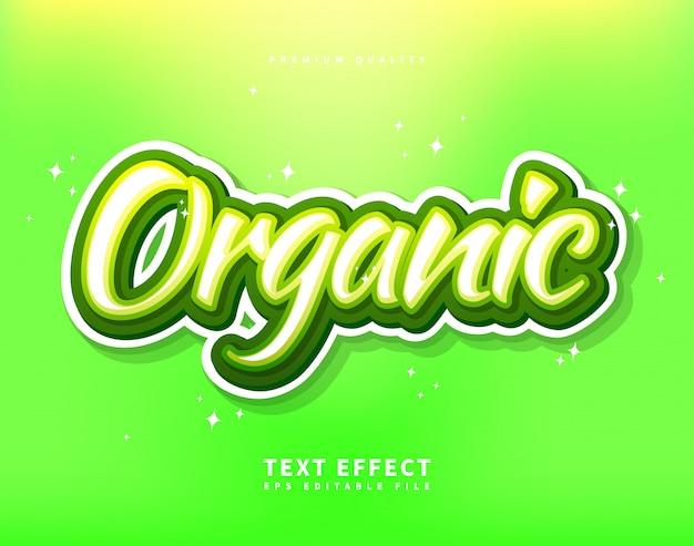 Czcionka skryptu pędzla organic spirit, odręczny kaligraficzny efekt tekstowy