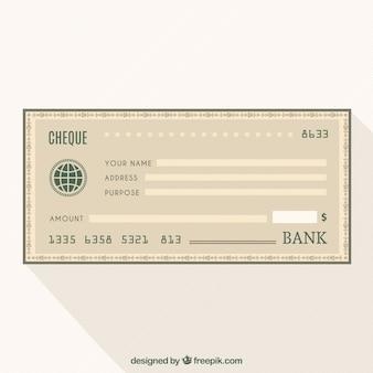 Czek bankowy