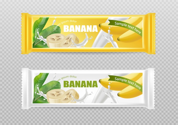 Czekoladki bananowe