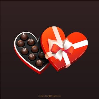 Czekoladki valentine