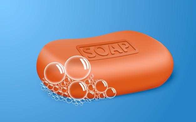 Czerwona bańka mydlana