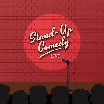 Czerwona cegła wstać komedia kreskówka