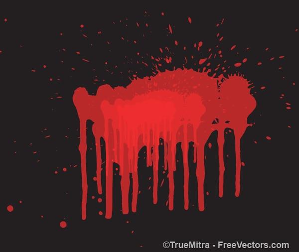 Czerwona ciecz tle powitalny