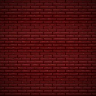 Czerwona ściana z cegieł tekstura