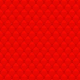 Czerwona tapicerka w tle