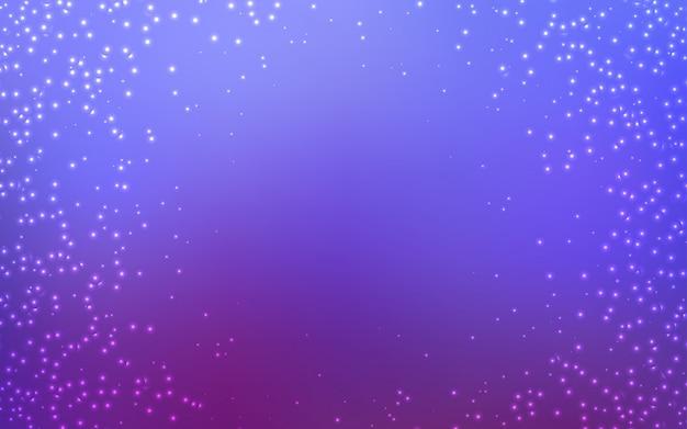 Czerwona wektorowa tekstura z milky sposób gwiazdami.