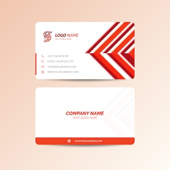 Czerwona wizytówka