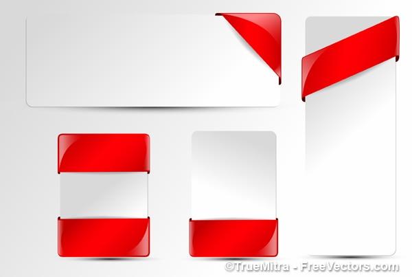 Czerwona wstążka paczka