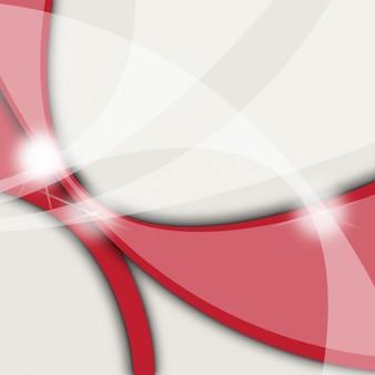 Czerwone kształty w tle