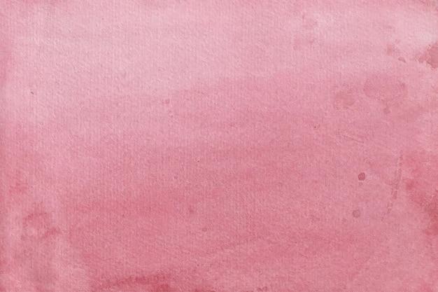 Czerwone tło akwarela miękkiej tekstury