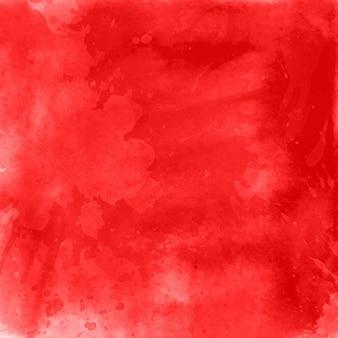 Czerwone tło akwarela