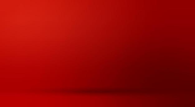 Czerwone tło gradientowe minimalne transparent wektor