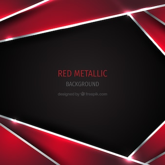 Czerwone tło metalowe