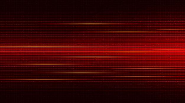 Czerwone tło prędkości