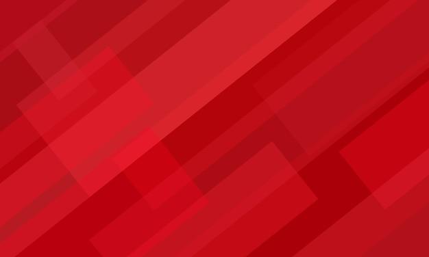 Czerwone tło z warstwą nakładki abstrakcyjny kształt geometryczny. projekt technologii na tapetę.