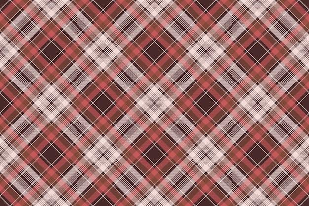 Czerwonej szkockiej kraty tkaniny tekstury tła bezszwowy wzór