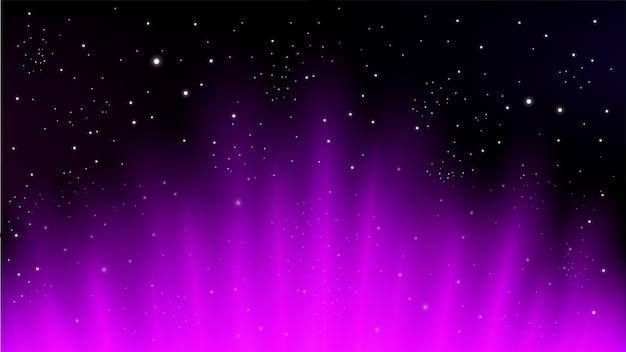 Czerwoni promienie wzrasta na ciemnym tle