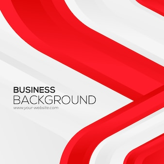 Czerwony biały biznesowy tło